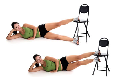 Example Exercise from Cellulite Workout